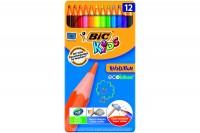 BIC Farbstifte Kids Evolution, 8902871, assortiert 12 Stück