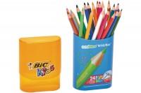 BIC Farbstifte Kids Evolution, 922511, assortiert 24 Stück