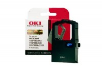 OKI Farbband Nylon schwarz (09002303)