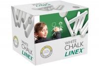 LINEX Tafelkreiden, 474000L, weiss 100 Stück