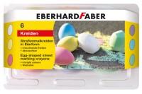 EBERHARD FABER Strassenkreide, 526510, 6 Farben ass. Etui