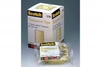 SCOTCH Tape 550  19mmx66m, 5501966K, transparent, reissfest