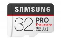 SAMSUNG MEMORY Micro-SDHC Pro Endurance 32GB with Adapter Class 10 100MB/s, MB-MJ32GA