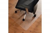 CLEARTEX Bodenschutzmatte Polycarbonat, FC1213420, glatte Böden 120x134cm