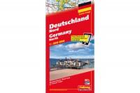 HALLWAG Strassenkarte, 382830014, Deutschland Nord 1:500'000
