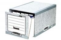 FELLOWES Aufbewahrungsbox grau, 01820EU, Karton, 35x29x54.5 cm