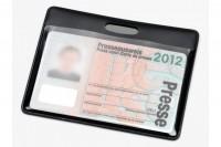 HIDENTITY Ausweishüllen, 0333-07, schwarz