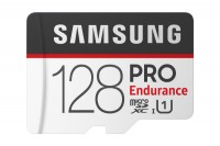 SAMSUNG MEMORY Micro-SDHC Pro Endurance 128GB with Adapter Class 10 100MB/s, MB-MJ128G
