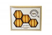 STEINHART Baumkerzen 100x13mm, 02666-21, Bienenwachs  20 Stück