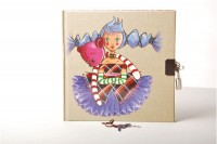 MANDARINE Tagebuch Avenue 16x16cm Zelda, 90g 160 Blatt, 42541MD