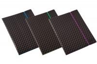 DUFCO Sichtbuch Vogue, 51500.033, schwarz/violett, 30 Taschen