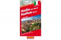 HALLWAG Strassenkarte, 382830901, Italien Nord 1:650'000