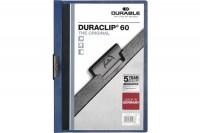 DURABLE Klemmhefter DURACLIP 60, 2209/07, für 60 Blatt A4 dunkelblau