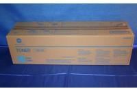 Konica Minolta Toner-Kit cyan 30000 Seiten (A0TM450, TN-613C)