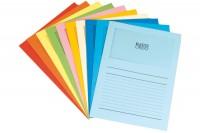 ELCO Sichthülle Ordo 120g A4, 29488, 10-farbig, Fenster 100 Stück