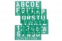 LINEX Schriftschablone 50mm, 586300L,