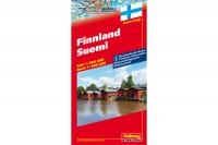 HALLWAG Strassenkarte, 382830019, Finnland 1:800'000