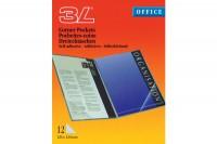 3L Dreieck Corner-Pockets 10x10cm, 510011, transp. 12 Stück