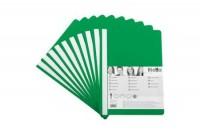 BIELLA Schnellhefter PP A4, 41702001, grün 10 Stück