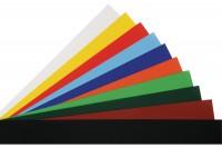 FOLIA Glanzpapier 35x50cm farbig ass., gummiert 50 Blatt, 07.7000.2
