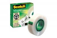 SCOTCH Magic Tape 810 19mmx66m, 8101966K, unsichtbar