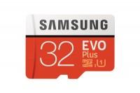 SAMSUNG MEMORY Micro-SDHC Card Evo Plus 32GB, MB-MC32GA, with Adapter Class 10 95MB/s
