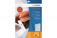 HERMA Fotophan Sichthüllen 10x15cm, 7585, 8 Stück/10 Blatt