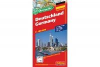 HALLWAG Strassenkarte, 382830013, Deutschland (Dis) 1:700'000