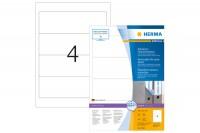 HERMA Ordner Etiketten 192X61mm, 10141, weiss, non-perm. 400 Stück