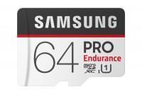 SAMSUNG MEMORY Micro-SDHC Pro Endurance 64GB with Adapter Class 10 100MB/s, MB-MJ64GA