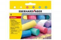 EBERHARD FABER Strassenkreide, 526506, 6 Farben ass. Etui