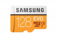SAMSUNG MEMORY Micro-SDHC Card Evo 128GB, MB-MP128G, with Adapter Class 10 100MB/s