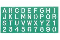 LINEX Schriftschablone 30mm, 586200L,