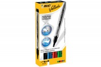 BIC Whiteboard Liquid Ink, 902094, 4 Farben, Etui